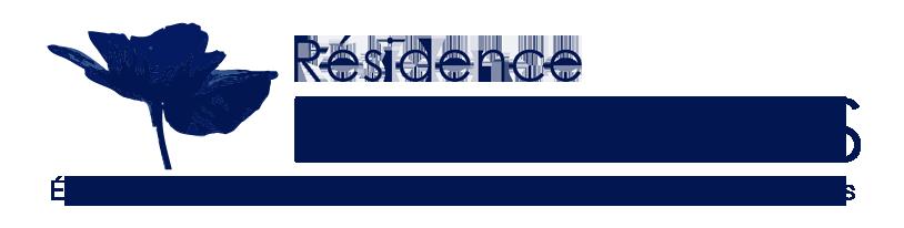 Logo Les Floralies bleu
